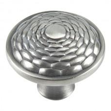 "Mandalay Round Cabinet Knob (1-5/16"") - Brushed Nickel (236-BRN) by Atlas Homewares"