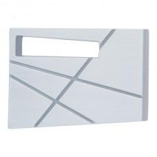 Modernist Left Cabinet Knob (1-3/4) - Brushed Nickel (252L-BRN) by Atlas Homewares