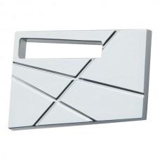 Modernist Left Cabinet Knob (1-3/4) - Polished Chrome (252L-CH) by Atlas Homewares