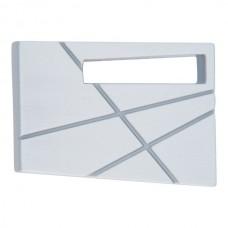 Modernist Right Cabinet Knob (1-3/4) - Brushed Nickel (252R-BRN) by Atlas Homewares