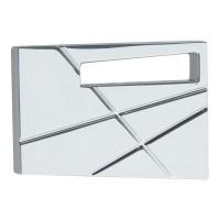Modernist Right Cabinet Knob (1-3/4) - Polished Chrome (252R-CH) by Atlas Homewares