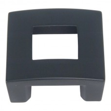 "Centinel Square Cabinet Knob (1-3/4"") - Matte Black (255-BL) by Atlas Homewares"