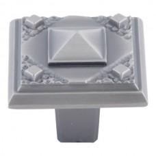 "Craftsman Cabinet Knob (1-1/4"") - Pewter (257-P) by Atlas Homewares"