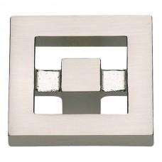 "Nobu Square Cabinet Knob (1-3/8"") - Brushed Nickel (260-BRN) by Atlas Homewares"