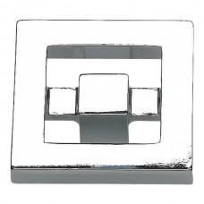 "Nobu Square Cabinet Knob (1-3/8"") - Polished Chrome (260-CH) by Atlas Homewares"