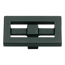"Nobu Rectangle Cabinet Knob (1-3/4"") - Matte Black (261-BL) by Atlas Homewares"