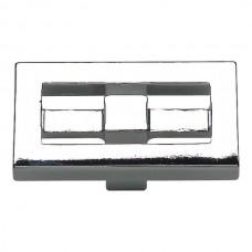 "Nobu Rectangle Cabinet Knob (1-3/4"") - Polished Chrome (261-CH) by Atlas Homewares"