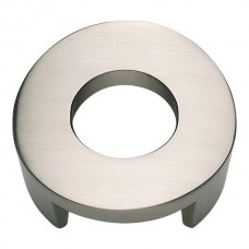 "Centinel Round Cabinet Knob (1-5/8"") - Brushed Nickel (268-BRN) by Atlas Homewares"