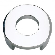 "Centinel Round Cabinet Knob (1-5/8"") - Polished Chrome (268-CH) by Atlas Homewares"