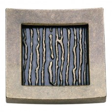 "Primitive Square Cabinet Knob (1-1/2"") - Burnished Bronze (270-BB) by Atlas Homewares"