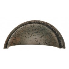 "Olde World Cup Bin Pull (3"" cc) - Rust (274-R) by Atlas Homewares"