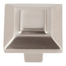 """Trocadero Cabinet Knob (1"""") - Brushed Nickel (283-BRN) by Atlas Homewares"""