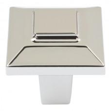 """Trocadero Cabinet Knob (1"""") - Polished Nickel (283-PN) by Atlas Homewares"""