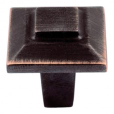 """Trocadero Cabinet Knob (1"""") - Venetian Bronze (283-VB) by Atlas Homewares"""