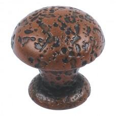 "Olde World Cabinet Knob (1"") - Rust (286-R) by Atlas Homewares"