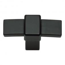 "Buckle Up Cabinet Knob (1-13/16"") - Matte Black (301-BL) by Atlas Homewares"