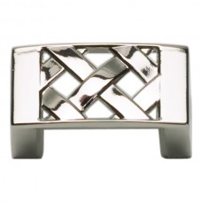 "Lattice Cabinet Knob (1-5/8"") - Polished Nickel (309-PN) by Atlas Homewares"