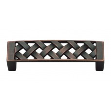 "Lattice Drawer Pull (3"" cc) - Venetian Bronze (310-VB) by Atlas Homewares"
