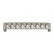 "Lattice Drawer Pull (5-1/6"" cc) - Brushed Nickel (311-BRN) by Atlas Homewares"