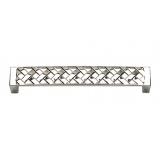 "Lattice Drawer Pull (5-1/6"" cc) - Polished Nickel (311-PN) by Atlas Homewares"