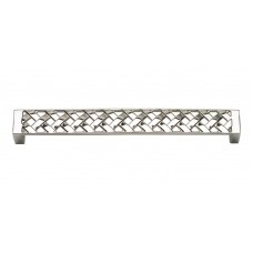 "Lattice Drawer Pull (6-5/16"" cc) - Polished Nickel (312-PN) by Atlas Homewares"