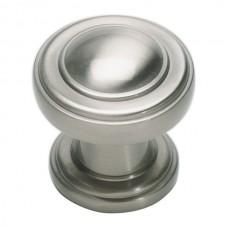 """Bronte Cabinet Knob (1-1/8"""") - Brushed Nickel (313-BRN) by Atlas Homewares"""