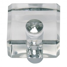 "Optimism Square Cabinet Knob (1-1/4"") - Polished Chrome (3145-CH) by Atlas Homewares"