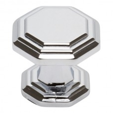"Dickinson Octagon Cabinet Knob (1-1/4"") - Polished Chrome (319-CH) by Atlas Homewares"