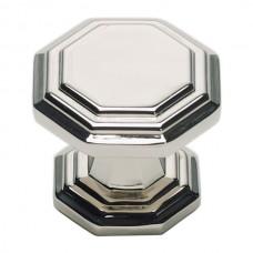 "Dickinson Octagon Cabinet Knob (1-1/4"") - Polished Nickel (319-PN) by Atlas Homewares"