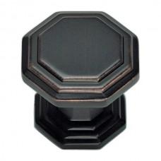 "Dickinson Octagon Cabinet Knob (1-1/4"") - Venetian Bronze (319-VB) by Atlas Homewares"
