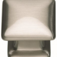 "Alcott Square Cabinet Knob (1-1/4"") - Brushed Nickel (322-BRN) by Atlas Homewares"