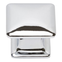 Alcott Square Cabinet Knob (1-1/4) - Polished Chrome (322-CH) by Atlas Homewares
