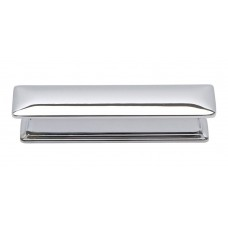 "Alcott Drawer Pull (3"" cc) - Polished Chrome (323-CH) by Atlas Homewares"