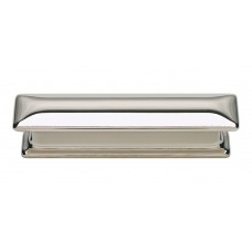 "Alcott Drawer Pull (3"" CTC) - Polished Nickel (323-PN) by Atlas Homewares"