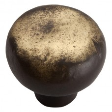 "Distressed Round Cabinet Knob (1-3/8"") - Antique Bronze (331-ABZ) by Atlas Homewares"