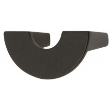 "Roundabout Drawer Pull (1-1/4"" cc) - Matte Black (353-BL) by Atlas Homewares"