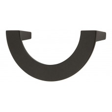 "Roundabout Drawer Pull (3"" cc) - Matte Black (354-BL) by Atlas Homewares"