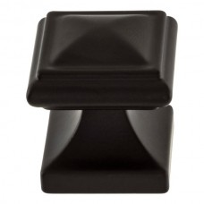"Wadsworth Cabinet Knob (1-1/4"") - Matte Black (370-BL) by Atlas Homewares"
