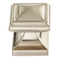 Wadsworth Cabinet Knob (1-1/4) - Brushed Nickel (370-BRN) by Atlas Homewares
