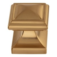 Wadsworth Cabinet Knob (1-1/4) - Warm Brass (370-WB) by Atlas Homewares