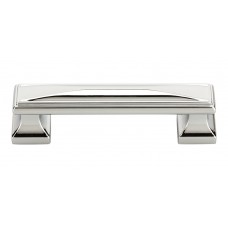 "Wadsworth Drawer Pull (3-3/4"" cc) - Polished Chrome (372-CH) by Atlas Homewares"