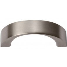 "Tableau Curved Handle Drawer Pull (1-7/16"" cc) - Brushed Nickel (396-BN) by Atlas Homewares"