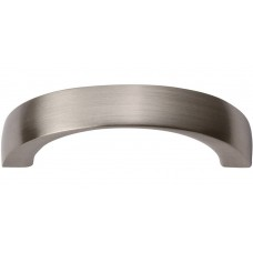 "Tableau Curved Handle Drawer Pull (1-7/8"" cc) - Brushed Nickel (397-BN) by Atlas Homewares"