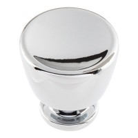 Conga Cabinet Knob (1-1/8) - Polished Chrome (412-CH) by Atlas Homewares