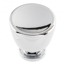 "Conga Cabinet Knob (1-1/8"") - Polished Chrome (412-CH) by Atlas Homewares"