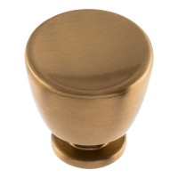 Conga Cabinet Knob (1-1/4) - Warm Brass (413-WB) by Atlas Homewares