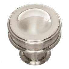 "Oskar Cabinet Knob (1-1/4"") - Brushed Nickel (A100-BRN) by Atlas Homewares"