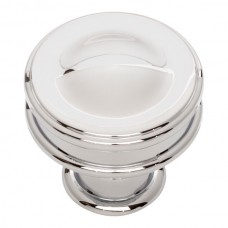 "Oskar Cabinet Knob (1-1/4"") - Polished Chrome (A100-CH) by Atlas Homewares"