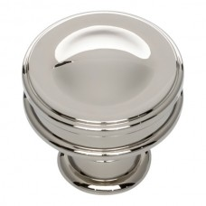 "Oskar Cabinet Knob (1-1/4"") - Polished Nickel (A100-PN) by Atlas Homewares"