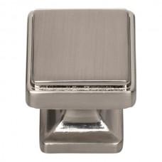 """Kate Cabinet Knob (1-1/8"""") - Brushed Nickel (A200-BRN) by Atlas Homewares"""